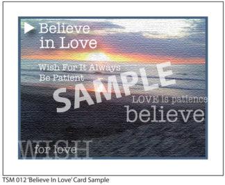 012 Sample Believe in Love
