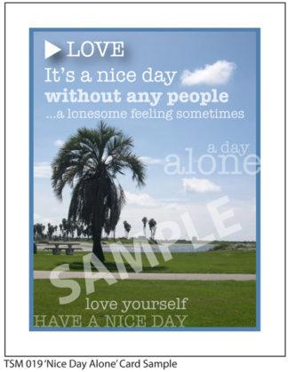019 Sample Nice Day Alone