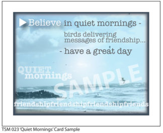 023 Sample Quiet Mornings
