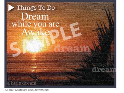 Sunset Dream Poster