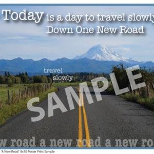 TSM 010ASP A New Road Sample Small Poster