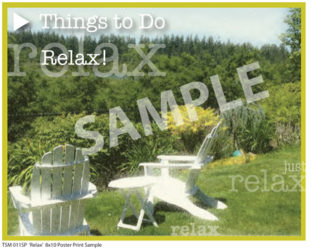 TSM 011SP Relax Sample Small Poster