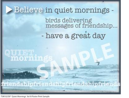 Quiet Mornings